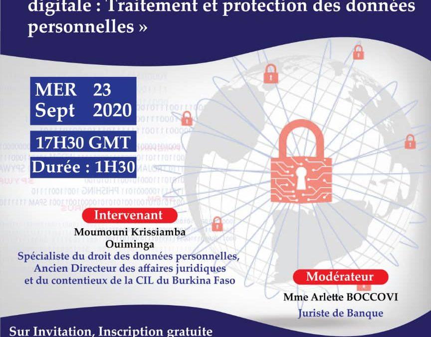 Traitement et protection des données personnelles