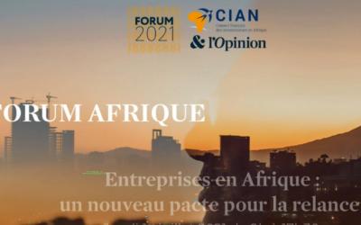 Forum Afrique CIAN 2021